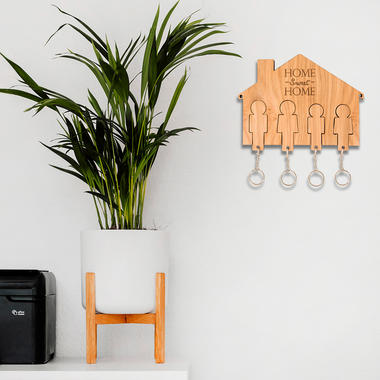 Home Sweet Home Key Holder (4 Person)